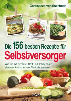 Cover 156 beste Rezepte für Selbstversorger