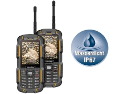 Walkie Talkie 2er Set wasserdicht