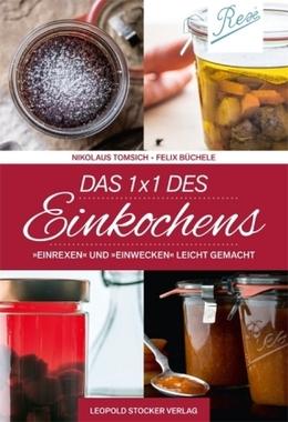 Cover das 1 x 1 des Einkochens Tomisch